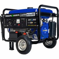 DuroMax Portable Dual Fuel Generator Electric Start CARB Com