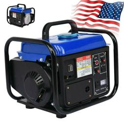 Portable Gas Generator 1200W Emergency Home Back Up Power Ca