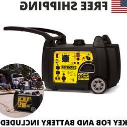 Champion 3100/3400 Watt Portable Gas-Powered Remote Start In