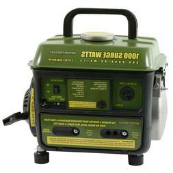 portable generator 1000 900 watt gasoline powered