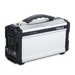 Portable Generator, SUAOKI 222Wh Power Sation Supply Recharg