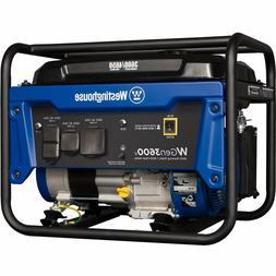 Portable Generator 3600 Rated Watts and 4650 Peak Watts Gas