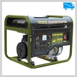 Sportsman Portable Generator 4000 3500-W Dual Fuel Powered L