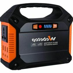 Webetop Portable Generator 42000mAh, Power Inverter Battery