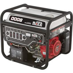 NorthStar Portable Generator - 8000 Surge Watts, 6600 Rated