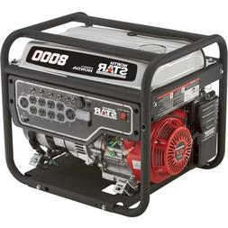 NorthStar Portable Generator - 8,000 Surge Watts, 6,600 Rate