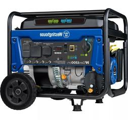 Westinghouse Portable Generator Dual Fuel Gas Propane Voltag