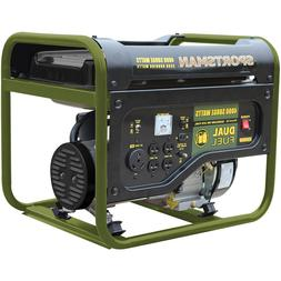 Portable Generator Dual Fuel Sportsman 4000W Gasoline or LPG