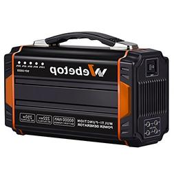 Webetop Portable Generator Inverter Battery Camping Emergenc
