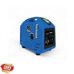 Portable Generator Inverter Gasoline Powered 2200 Watt Start