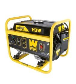 Portable Generator Quiet Gasoline 1800 Watt Home Use Camping