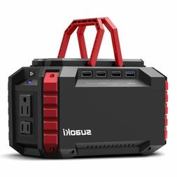 SUAOKI Portable Power Station, 150Wh/100W Camping Generator