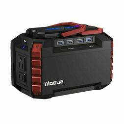 Portable Power Station 150Wh Quiet Gas Free Solar Generator