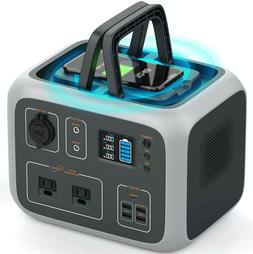 portable power station solar generator for camping