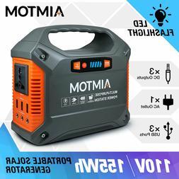 Portable Power Station 155Wh 42000mAh 110V AC USB 12V DC CPA