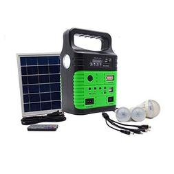 Portable Solar Generator with Solar Panel,Included 3 Sets LE
