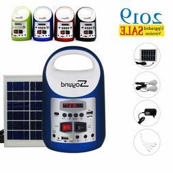 Portable Solar Generator Solar Panel Power Inverter Electric