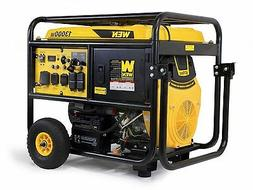 WEN 5613K 13000-Watt Portable Standby Generator with Wheel K