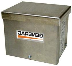 Generac Power Systems 6343 Generator Power Inlet Box, Alumin