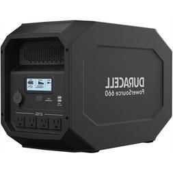 Duracell PowerSource 660, Quiet Portable Power, 12V AGM SLA