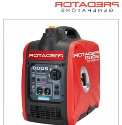 Predator 2000 Watt Generator Inverter Super Quiet, Small And