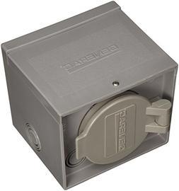 Generac 6340 30-Amp 125/250V Raintight Power Inlet Box with