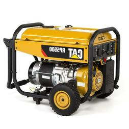 Cat RP 5500-Running-Watt Portable Generator with Caterpillar
