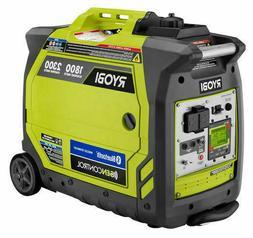 Ryobi Bluetooth 2,300-Watt Quiet Gasoline Powered Digital In