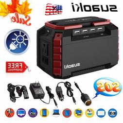Suaoki S270 150Wh Solar Power Generator Supply 150W Inverter