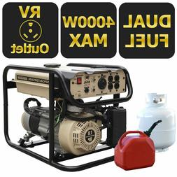 Sportsman Sandstorm 4000 Watt Dual Portable Fuel Generator -
