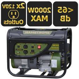 Sportsman Gasoline 2000W Portable Generator with Weatherproo