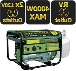 Sportsman Portable Generator 4000/3250-W Propane Gas Powered