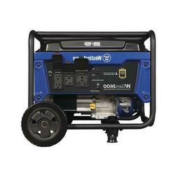 Starting Watt Gasoline Portable Generator Westinghouse 3,600