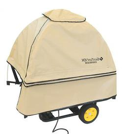 GenTent 10K Stormbracer Portable Generator Tent Tan with Bla