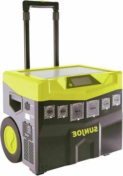 Sun Joe Battery / Solar Powered Portable Inverter Generator