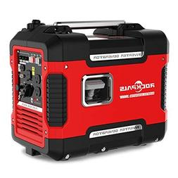 Rockpals 2000-Watt Super Quiet Inverter Generator, 9 Hours T