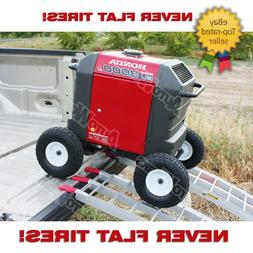 All Terrain Wheel Kit -- fits Honda EU3000is Generator