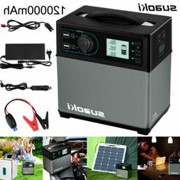 Suaoki 400Wh Portable Solar Power Generator Supply Jump Star