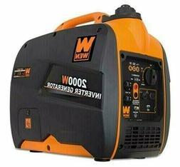 WEN 56200i 79.7cc Gas-Powered Portable Inverter Generator, 2