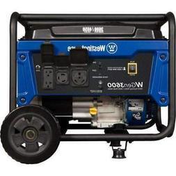 Westinghouse WGen3600 3600W/4650W Portable Generator New