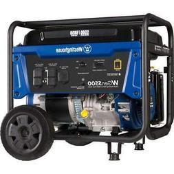 Westinghouse WGen5500 5500W/6850W Gas Generator New