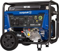 Westinghouse Wgen7500 Portable Generator With Remote Electri