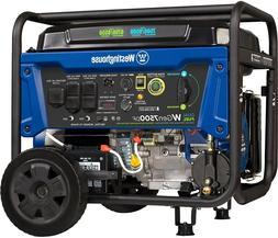 Westinghouse WGen7500DF Dual Fuel Portable Generator 7500 Wa