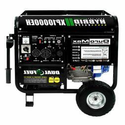Duromax XP10000EH 10000 Watt Dual Fuel Electric Start Portab
