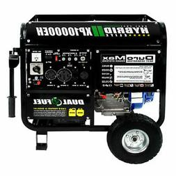 DuroMax XP10000EH 10000-Watt Electric Start Gas Propane hybr