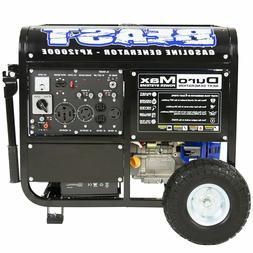 DuroMax 12000 Watt Portable Gas Electric Start Generator Sta