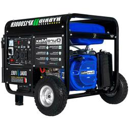 DuroMax XP12000EH Portable 18 HP Dual Fuel Powered Generator