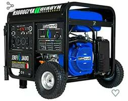 Duromax XP13000EH, 13000 Watt Dual Fuel Electric Start, Port