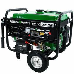 DuroMax XP4850EH 4850 watt Dual Fuel Hybrid generator Electr