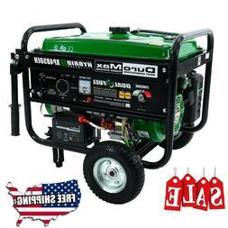 DuroMax XP4850EH Hybrid Portable Dual Fuel Propane NEW Gas C